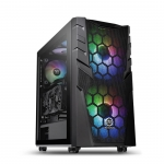 Кейс Thermaltake Commander C32 TG ARGB, Чёрный