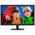 "Монитор PHILIPS 223V5LHSB/01 21.5"" 1920x1080 TFT 1xVGA 1xHDMI W-LED Full HD 16:9 1xVGA5m 250кд/м2, Черный"